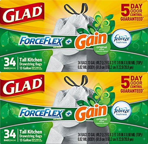 Glad-ForceFlex-OdorShield-Tall-Kitchen-Drawstring-Trash-Bags-13-Gallon-68-Count