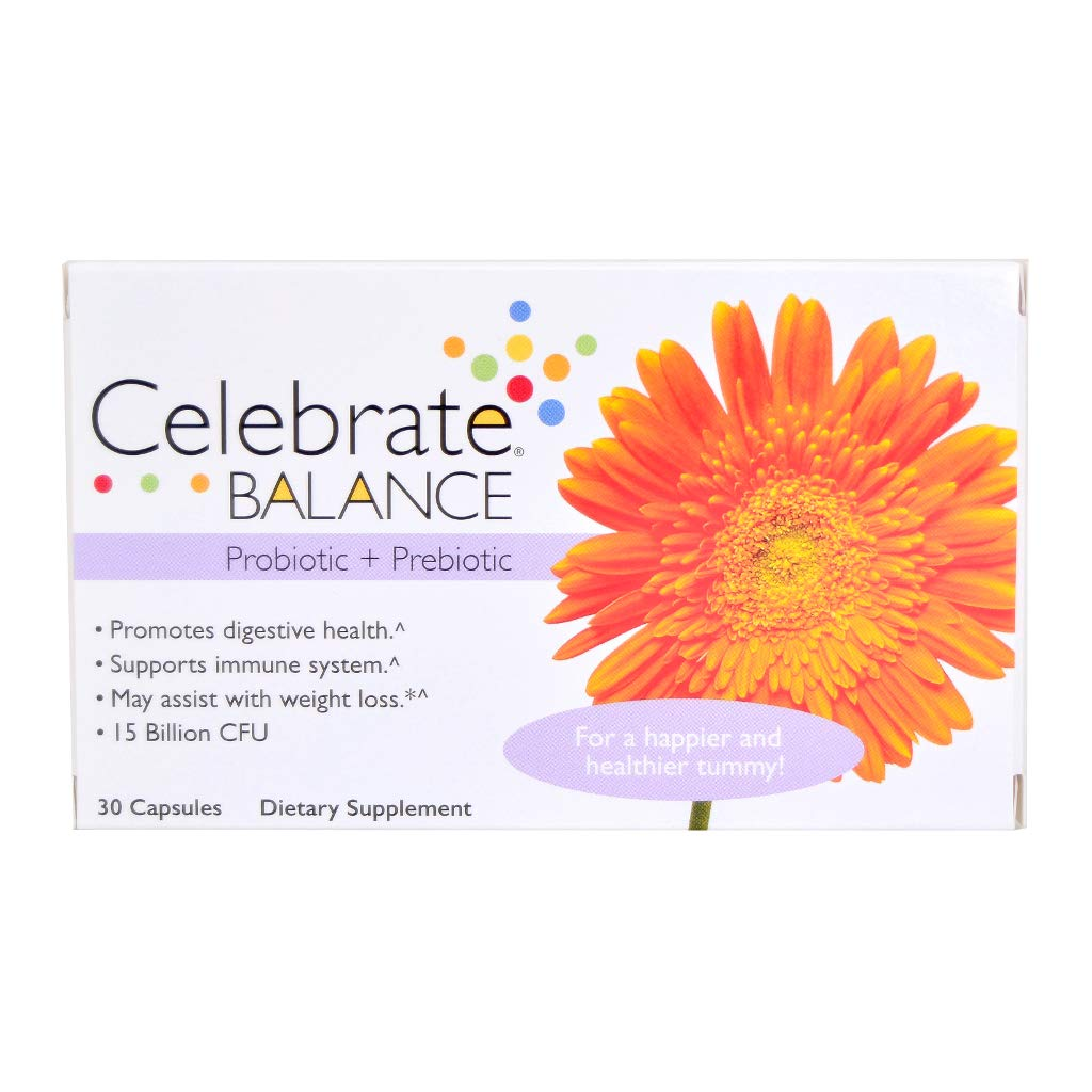 Celebrate Balance Probiotic Prebiotic - 30 Count by Celebrate Bariatric Supplements