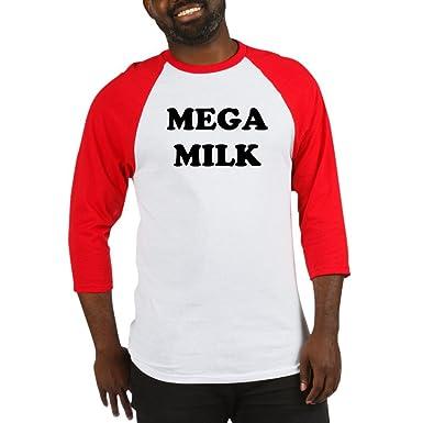 68016eca Amazon.com: CafePress MEGA Milk - Baseball Jersey Baseball Shirt: Clothing