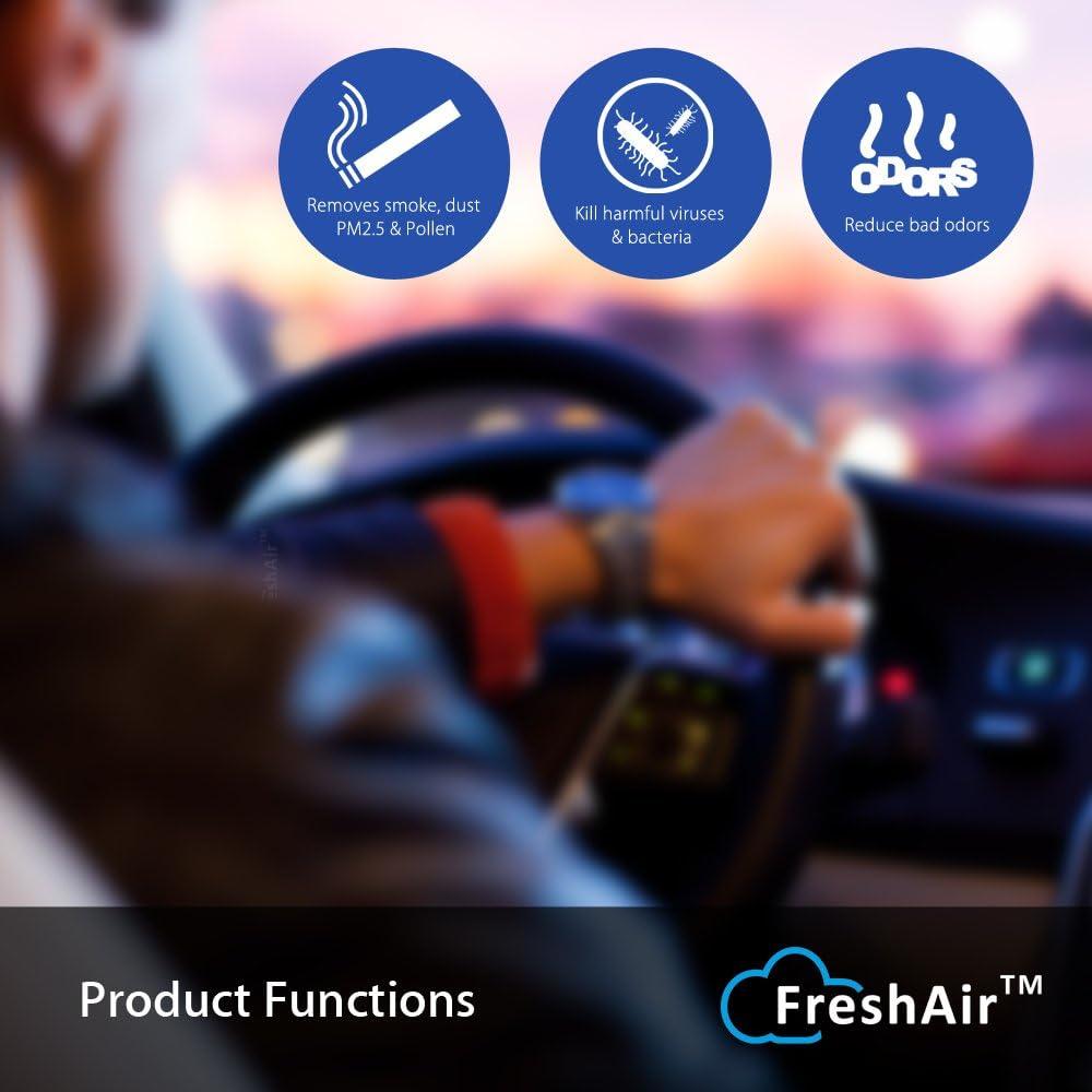 Amazon.es: Mejor purificador de aire del coche, ambientador de ...