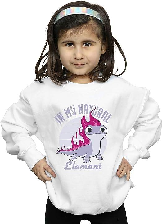 Disney Niñas Frozen 2 Salamander Bruni Element Camisa De Entrenamiento: Amazon.es: Ropa y accesorios