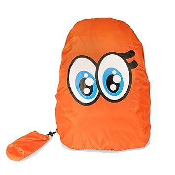 Funda impermeable para mochila Verttee, mochila escolar, protección contra lluvia, impermeable, bolsa