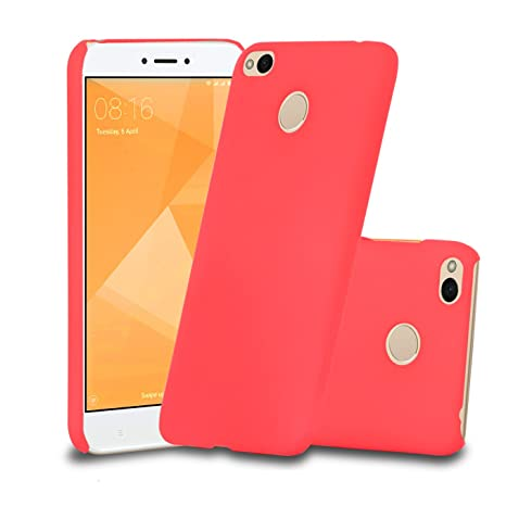 best sneakers e73ba 90c6a Parallel Universe Xiaomi Redmi 4 Back Cover Case Premium Smooth Rubberised  Matte Finish Hard PC backcover- Hot Pink