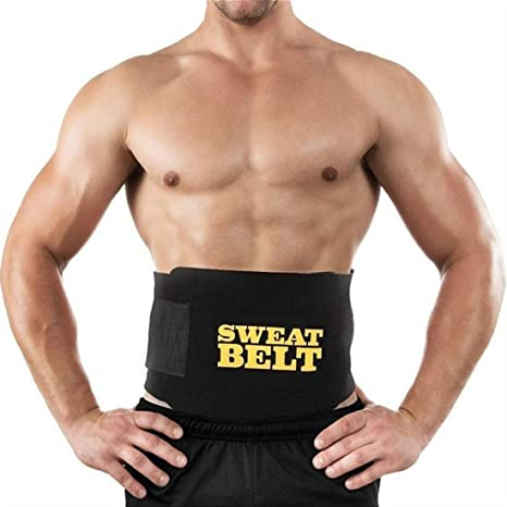 066bb338bd Buy SAHANI TRADERS Unisex Neoprene Sweat Slim Belt for Fat Burner and  Cutter (Free Size) Online at Low Prices in India - Amazon.in