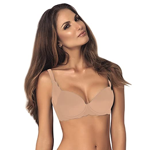 3d298b35a092c Vanessa Lingerie Women s Sexy Underwire Bra 38B Nude at Amazon Women s  Clothing store