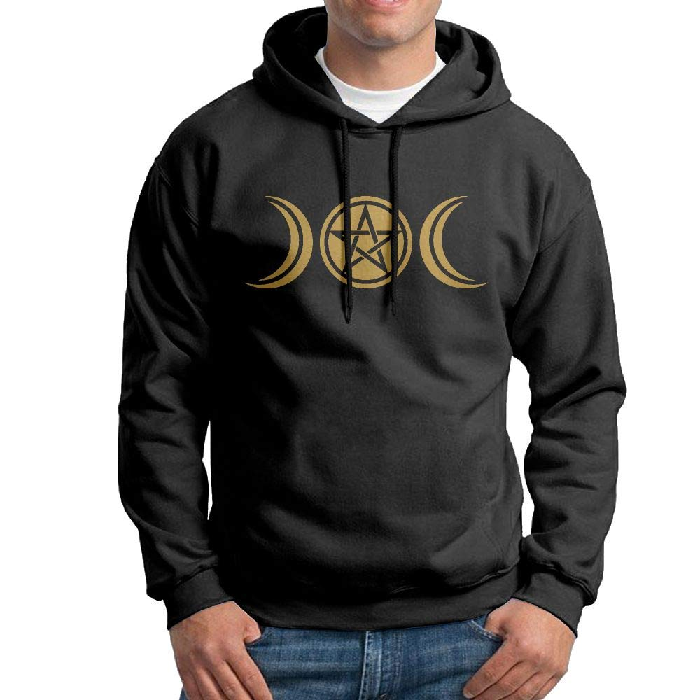 NWYYZDD Boys Wicca Triple Moon Patterns Print Athletic Pullover Tops Fashion Sweatshirts