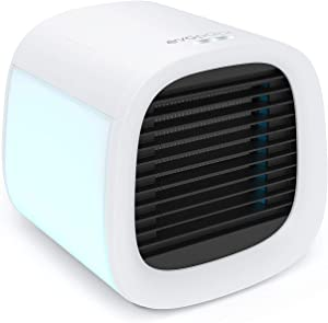Evapolar evaCHILL Personal Evaporative Air Cooler and Humidifier Portable Air Conditioner Fan, White