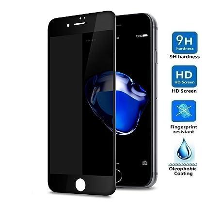 649c56ab1d5 Protector de Pantalla ANTI ESPÍA para IPHONE 8 / IPHONE 7, Cristal Vidrio  Templado Premium