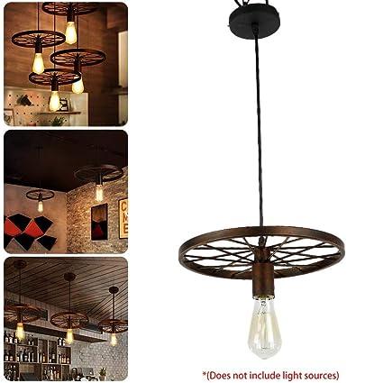 Vintage lámpara de Techo Industrial lámpara de Techo Retro ...