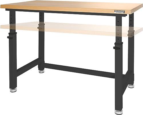 Cheap Seville Classics UltraHD Workbench Desk Table modern office desk for sale