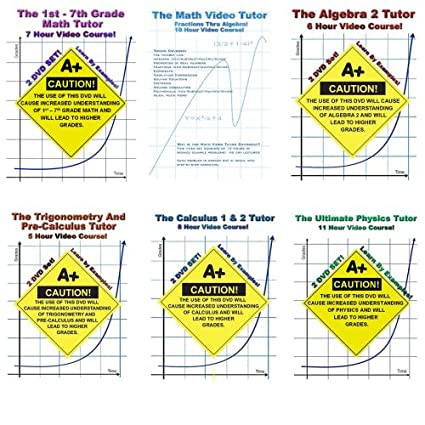 First Grade Math first grade math free worksheets : Amazon.com: Math And Physics DVD Bundle! - 11 DVDs In 6 Cases ...