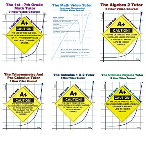 Amazon.com: Math And Physics DVD Bundle! - 11 DVDs In 6 Cases ...