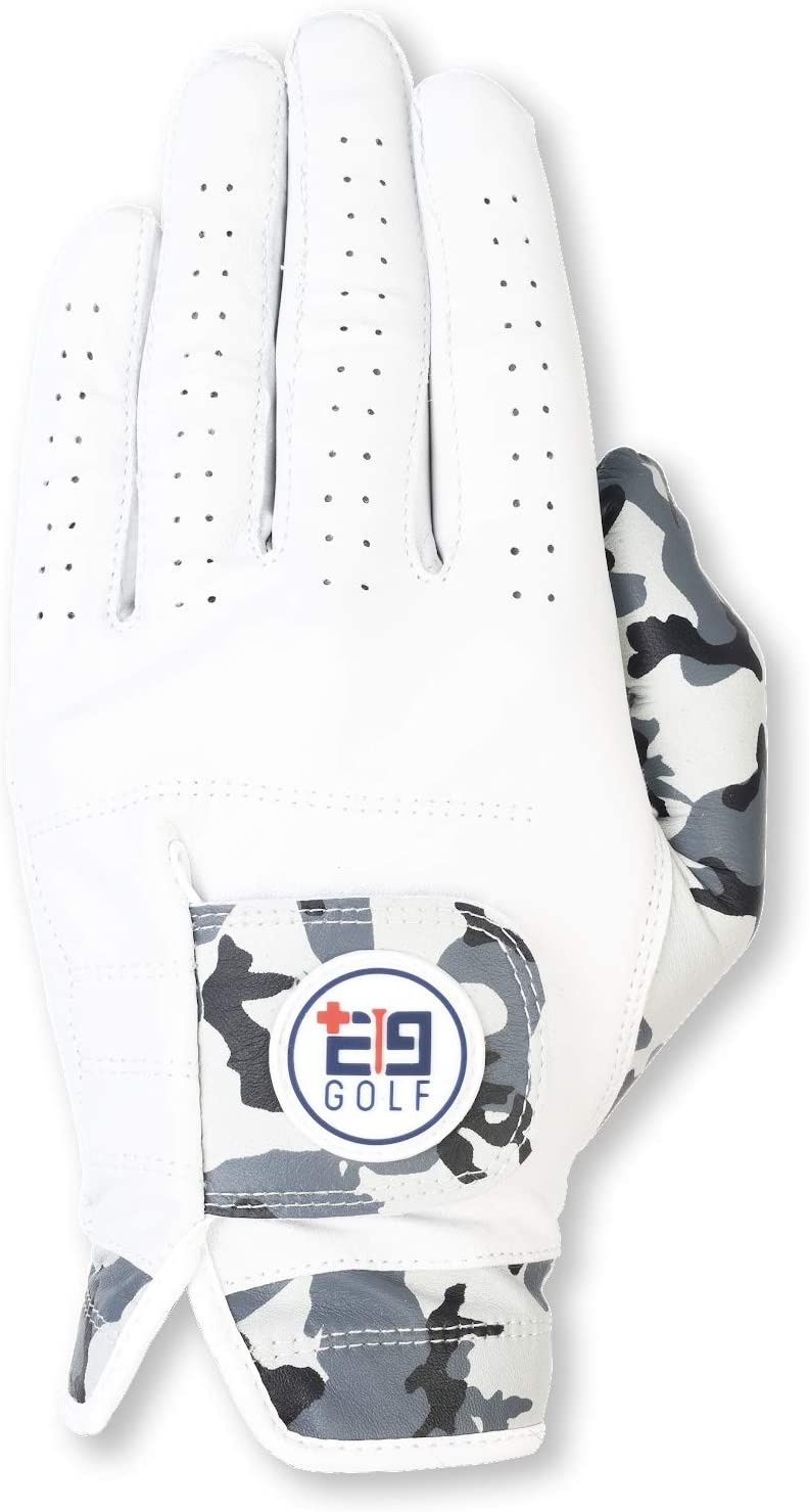 E9 Golf Tour Performance Golf Glove – Premium Cabretta Leather Golf Gloves for Men – Ultra Soft Leather – Comfortable Fit - Perfect Design for A More StylishGolf Game