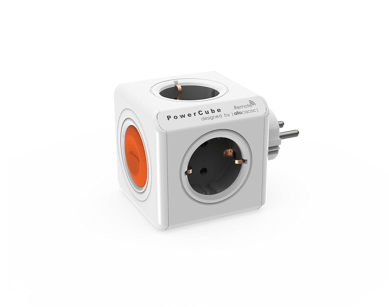 allocacoc Eco PowerCube Remote Original mit Schalter, 4: Amazon.de ...