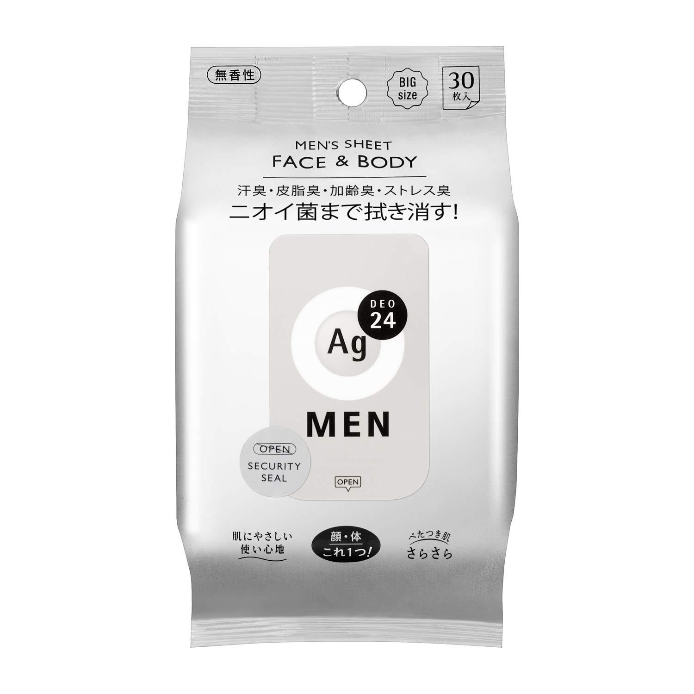 【資生堂】エージーデオ24 メンズ ボディシート 無香性のサムネイル