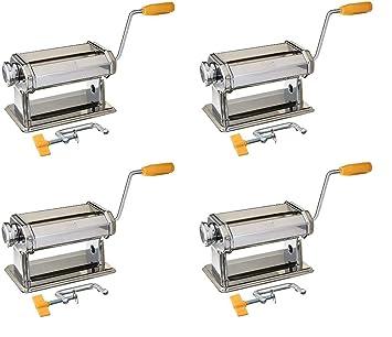 Polymer Clay Press Manual Pasta Machine Flatten Art Project Kit Metal Roller