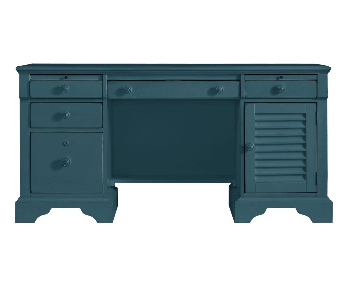 Amazon.com: Stanley Furniture 411 55 44 Coastal Living Retreat Computer  File Desk: Kitchen U0026 Dining