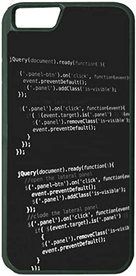 Amazon com: jQuery Code Computer Programming Cover Case for