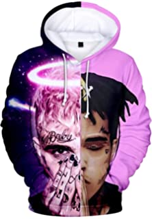 a9ae937cef9b Imilan Unisex 3D Printed Hoodie Men Inspired by Xxxtentacion Hooded  Sweatshirt