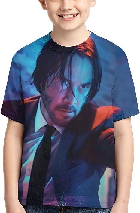 Amazon.com: Keanu Reeves Kids Boys Girls Summer T-Shirt