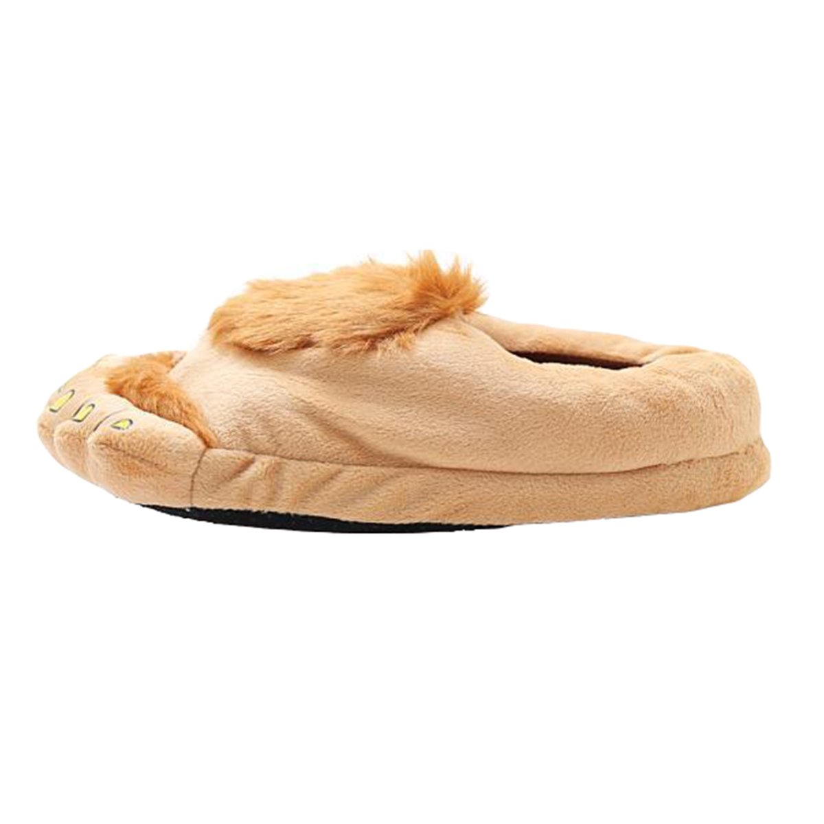 b22ecd41ffb83 Casa Femme Peluche Pantoufle Monstre Chaussons Rigolo Adulte Cartoon Hiver  Coton Chaussons 3D Chaussures