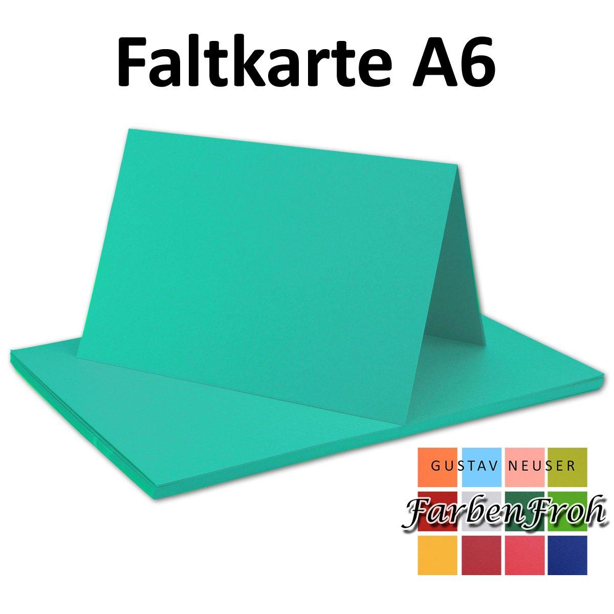 150x Falt-Karten DIN A6 Blanko Doppel-Karten in in in Vanille -10,5 x 14,8 cm   Premium Qualität   FarbenFroh® B076F3BRVY | Fairer Preis  0c7528