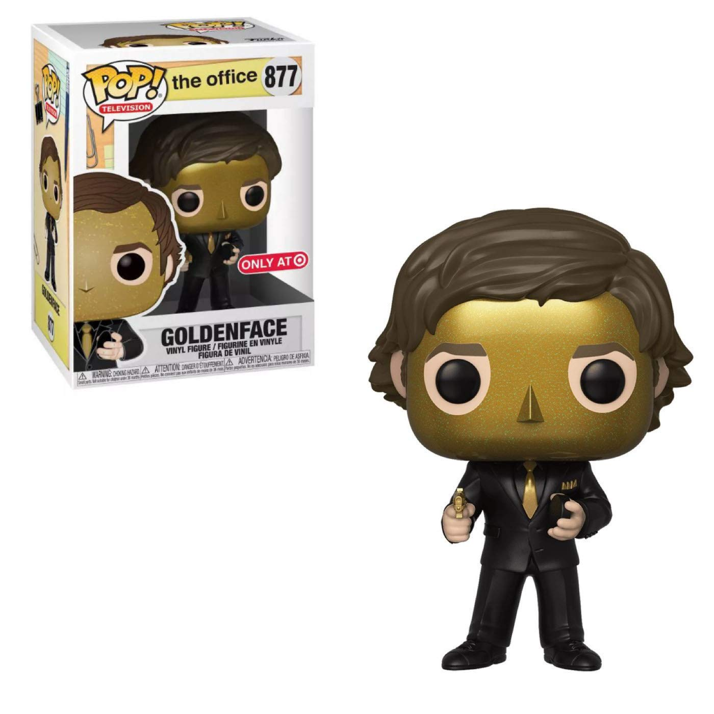 Funko Pop The Office Jim Halpert as Goldenface