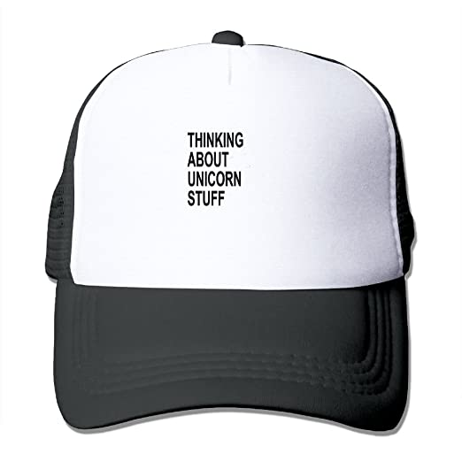d4efc4387 Thinking About Unicorn Stuff Summer Passion Movement Summer Fashion Mesh  Baseball Cap Adjustable Trucker Hats For