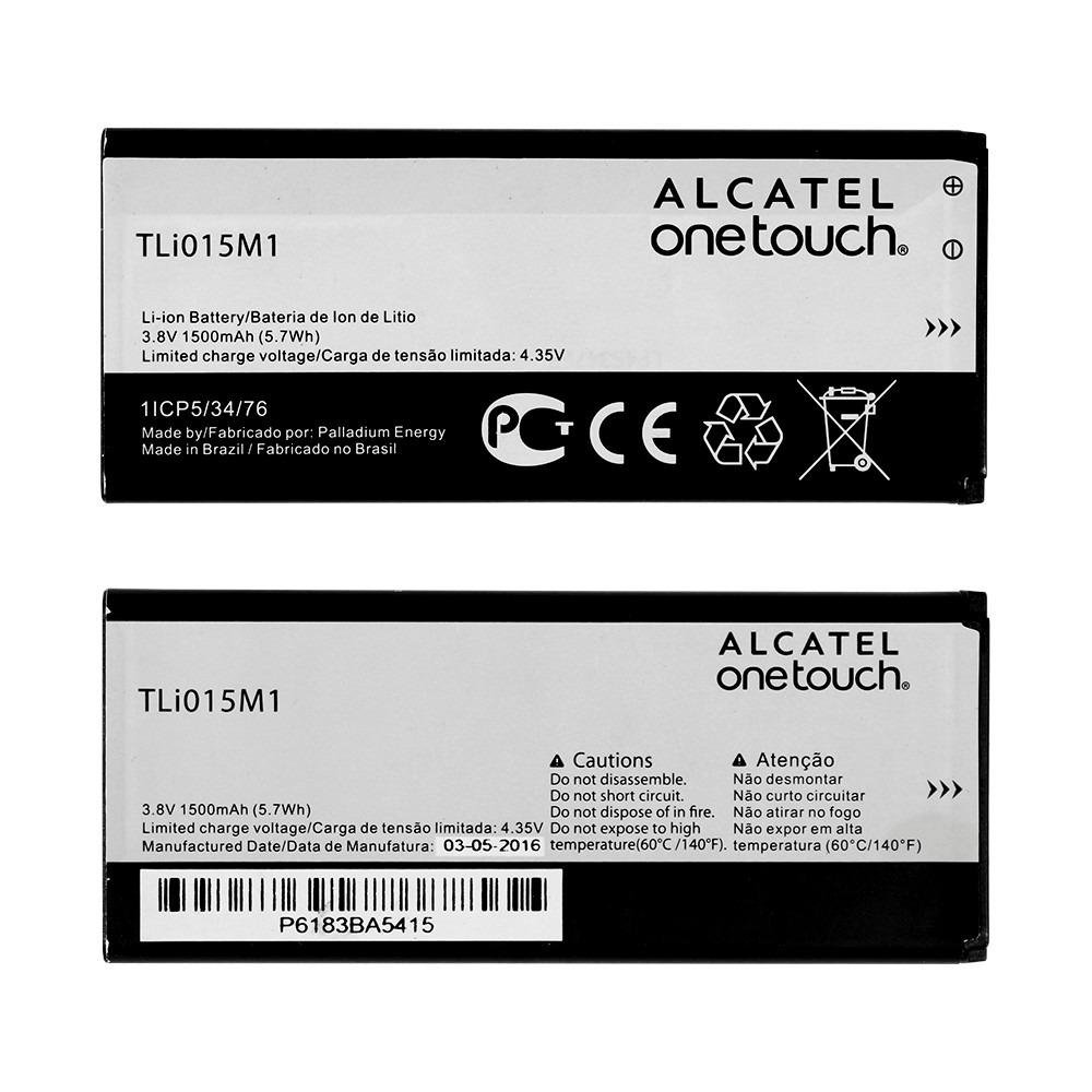 GENUINE ALCATEL® TLI015M1 BATTERY FOR ONE TOUCH PIXI 4 4.0/4034/ 4034D 1500mAh