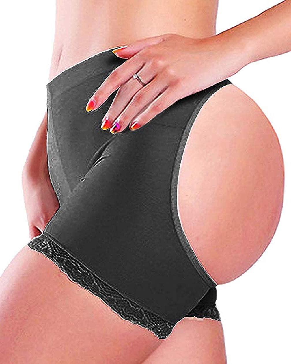 Women Hip Enhancer Body Shaper Lifter Butt Briefs US Up Push Booty Panty
