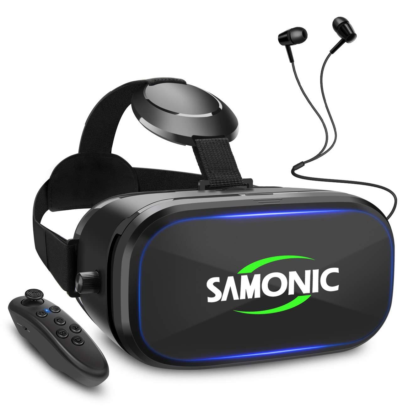 SAMONIC 3D VRゴーグル 「イヤホン、Bluetoothコントローラ、日本語説明書付属」 (ブラック) product image