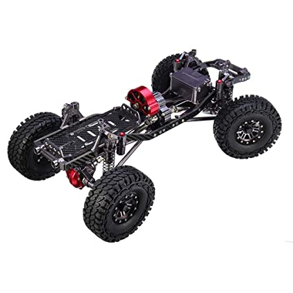 Amazon com: STARPROMISE 1/10 CNC RC Rock Crawler Truck