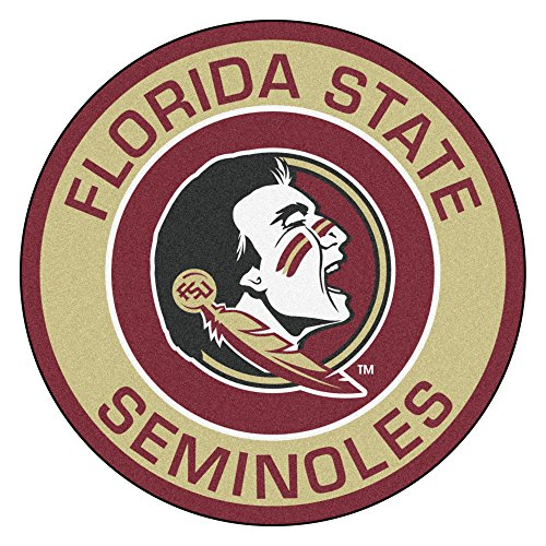 FANMATS 18606 Florida State University Roundel Mat