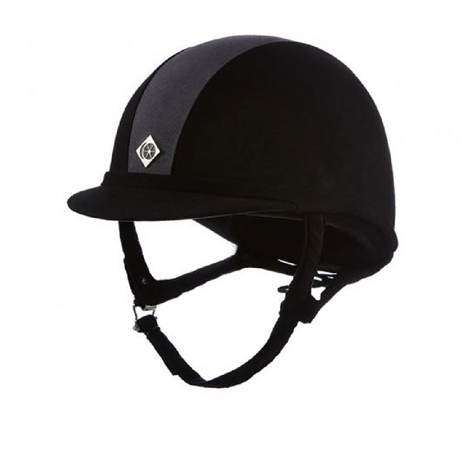 Charles Owen GR8 Riding Hat Black/Charcoal 64cm