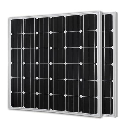 Amazon renogy 150 watts 12 volts monocrystalline solar panel renogy 150 watts 12 volts monocrystalline solar panel2 piece cheapraybanclubmaster Image collections