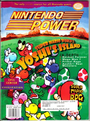 Nintendo Power Magazine - Yoshi's Island (Volume 77)