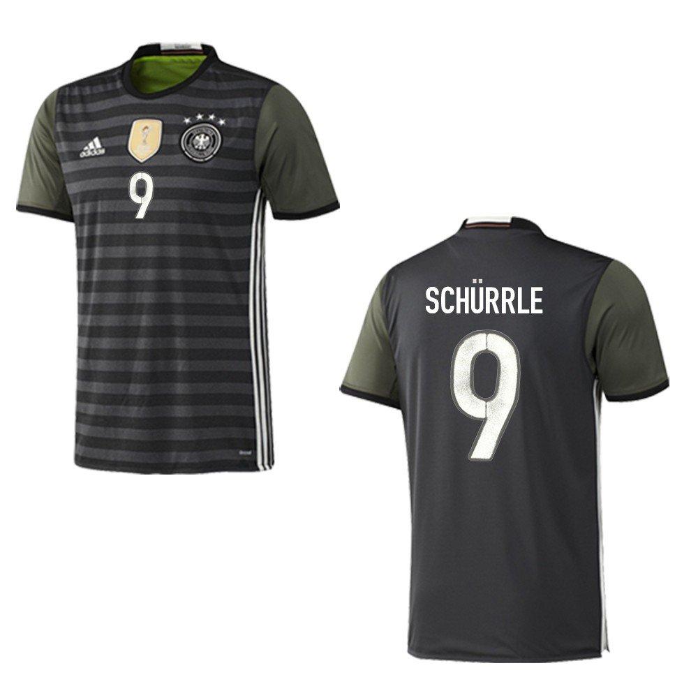 Adidas DFB DEUTSCHLAND Trikot Away Kinder EURO 2016 - SCHÜRRLE 9, Größe 128