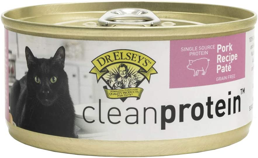 Dr. Elsey's Cleanprotein Pork recipe pate 5.5 oz (Pack of 24)