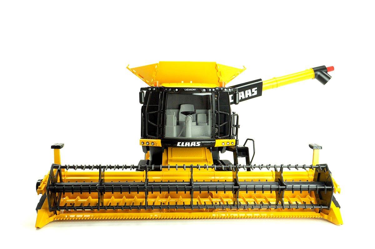 Bruder Claas Lexion780 Combie Harvester Yellow Bruder Toys Bruder
