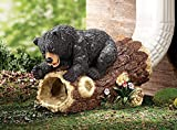 Cute Playful Woodland bear Decorative Downspout Extension Outdoor Yard Decor