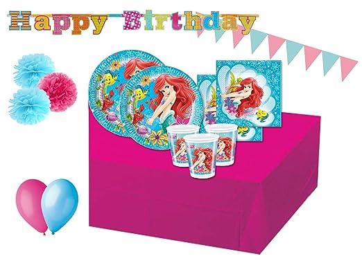 creative-converting Decoraciones de cumpleaños La Sirenita ...