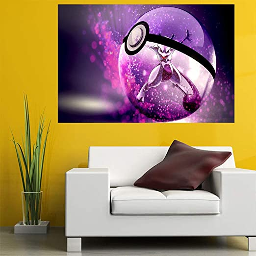 Bit Better Pokémon Go Cute 3D Design Pinted Wallpaper Sticker ...