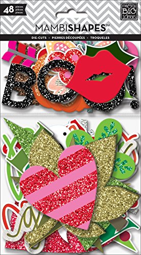 me & my BIG ideas Holiday Icons Sticker (Paper Pizazz Papers Accents)