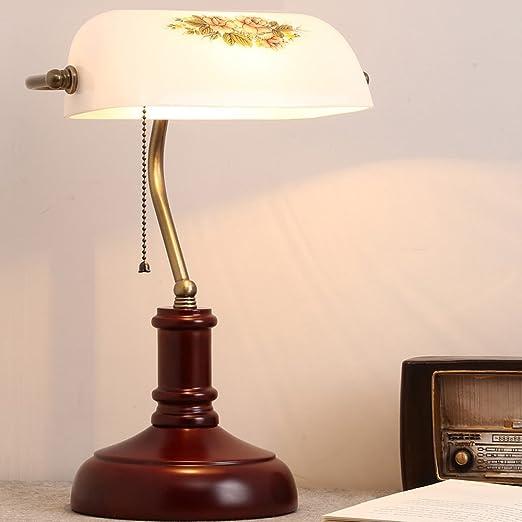 Lámpara de Mesa Retro Antiguo Dormitorio de Shangai Mesa de Noche ...