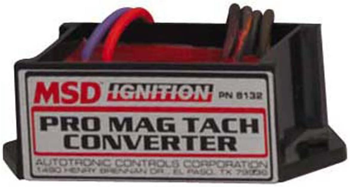 Msd 8132 Pro Mag Tach Converter Wiring Harness