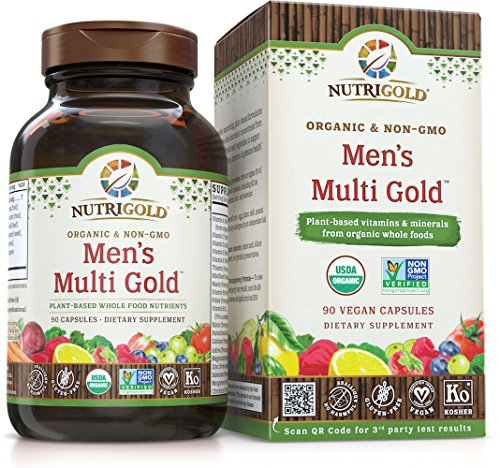 Nutrigold Men's Multi Gold, 90 Count