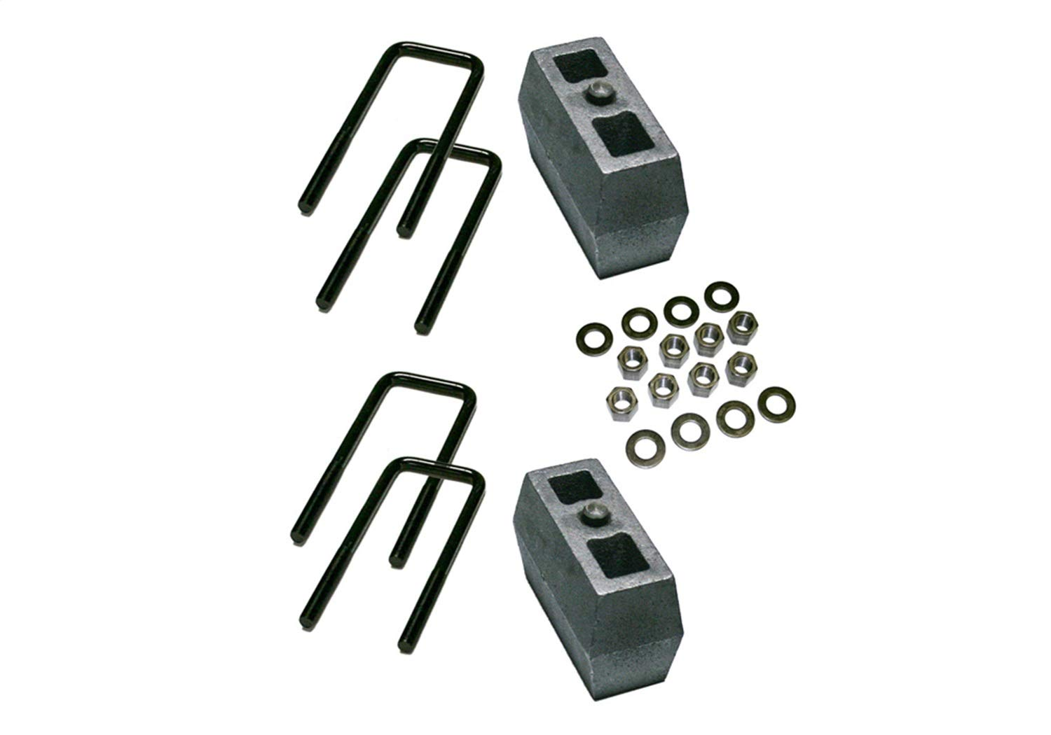 Superlift Suspension 7149 4 inch Block Kit-1979-1995 Toyota Pickup 1979-1986 4Runner 4WD-with 2.5 inch Wide Ubolts
