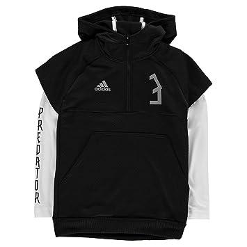 d7f901b6aaea adidas Children's Predator Half Zip Hoodie: Amazon.co.uk: Sports ...
