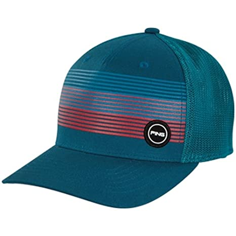 Image Unavailable. Image not available for. Color  PING FITTED SPORT MESH HAT  2018- TURQUOISE L XL 90b9a1050ee8