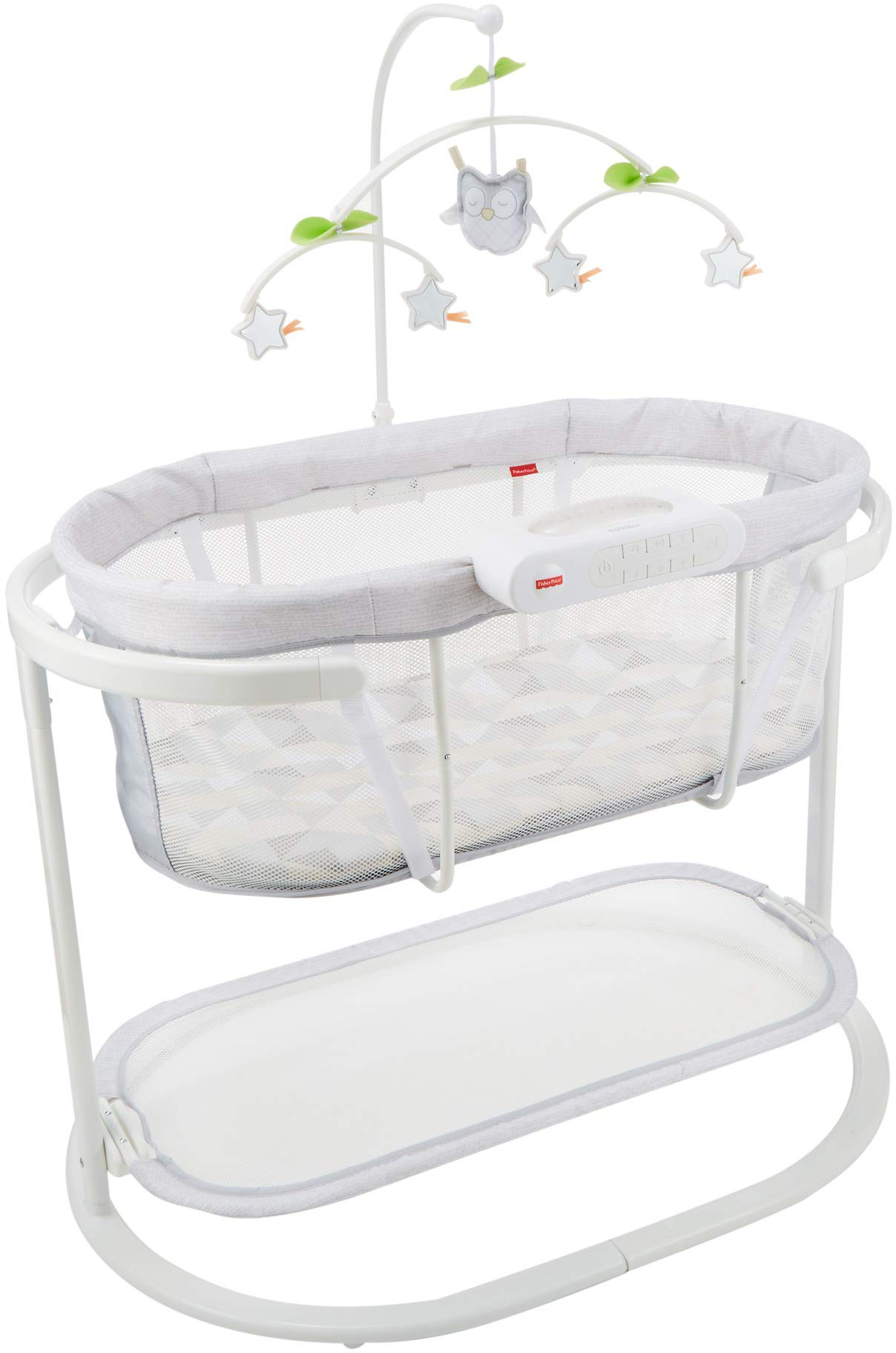 Fisher-Price Soothing Motions Bassinet with Smart Connect by Fisher-Price